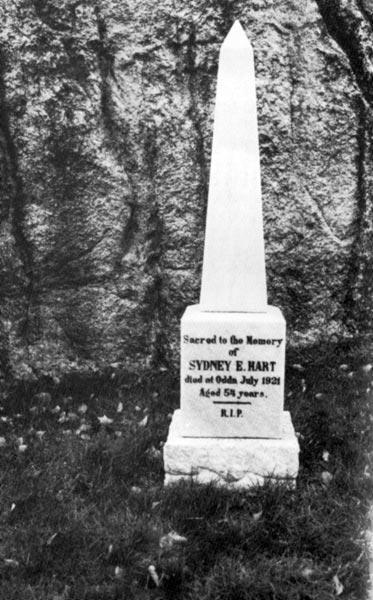Sydney Ernest Harts grave, Odda, Norway